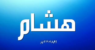 صور معنى اسم هشام , لو اسمك هشام تعال معنا اعرف معني هذا الاسم