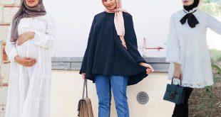 صور ملابس للحوامل المحجبات , احدث صيحات الموضة للحوامل في صيف 2019 للمحجبات