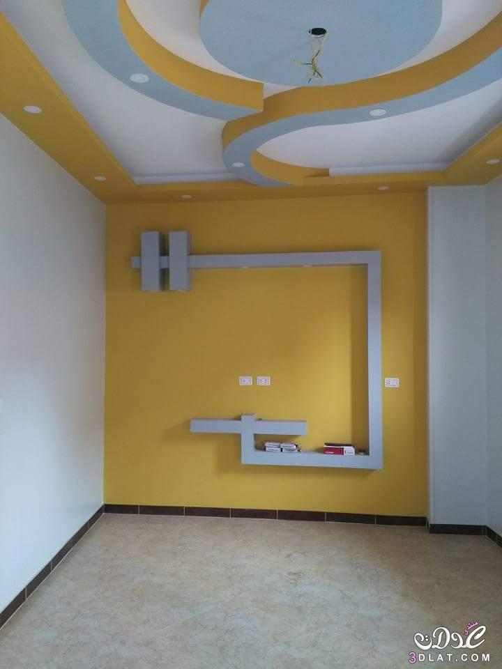 صور جبس ديكور , اجمل تصاميم ديكورات جبسيه لاسقف منزلك