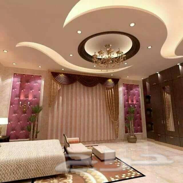 بالصور جبس ديكور , اجمل تصاميم ديكورات جبسيه لاسقف منزلك 576 5