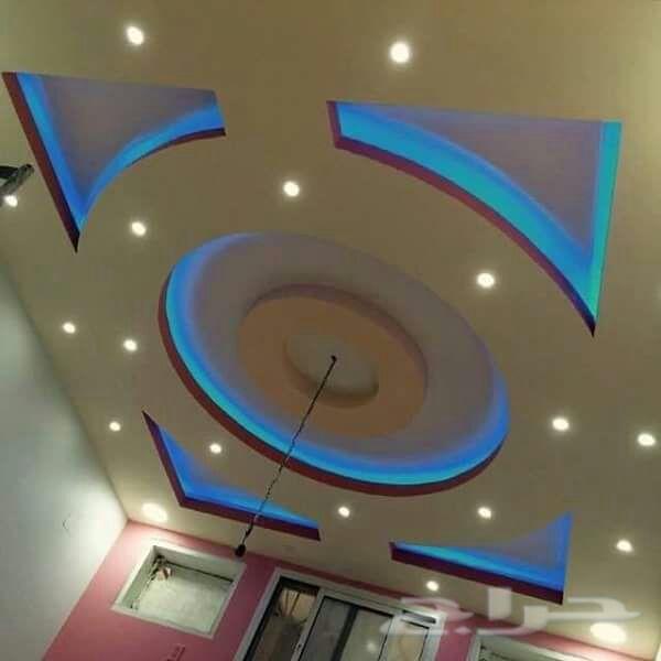 بالصور جبس ديكور , اجمل تصاميم ديكورات جبسيه لاسقف منزلك 576 8