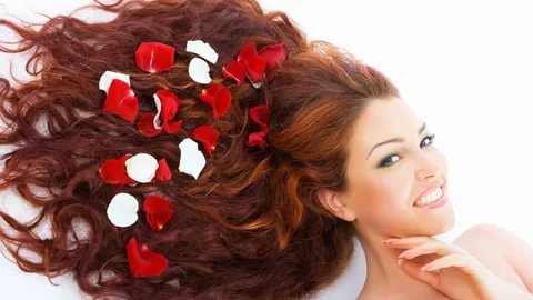 صورة ماء الورد للشعر , طريقة لجعل الشعر ناعم وطويل بماء الورد