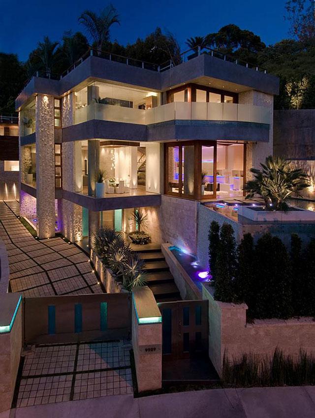 بالصور منزل فخم , منازل فخمة وحديثة وشكلها رائع على مستوى العالم 604 3