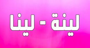 معنى اسم لينا , تعريف اسم لينا فى اللغة العربية واللغات الاخرى