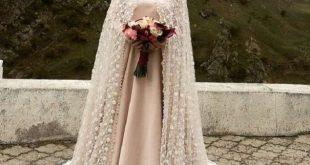 بالصور فساتين اعراس للمحجبات , اجمل الفساتين العرائس المحجبات 2552 12 310x165