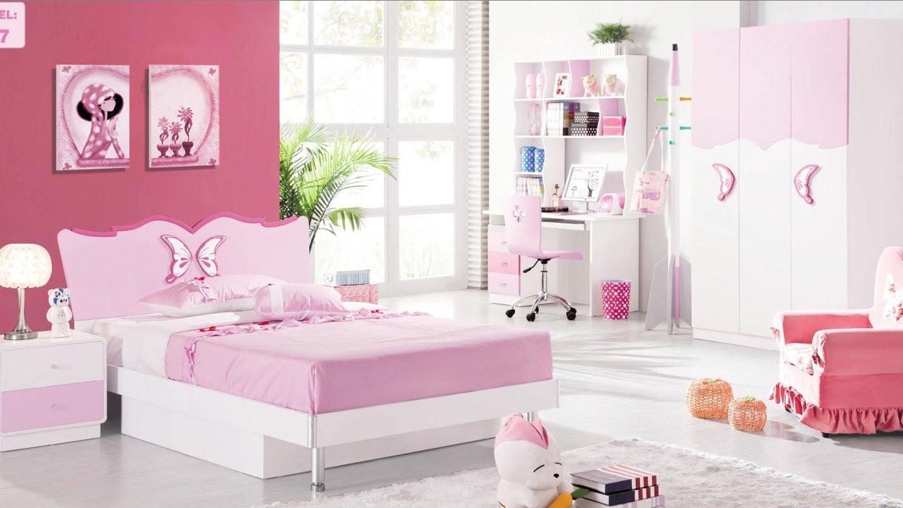 صورة ديكورات غرف نوم بنات , تصميمات حديثة لغرف نوم بنات