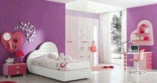 صور ديكورات غرف نوم بنات , تصميمات حديثة لغرف نوم بنات