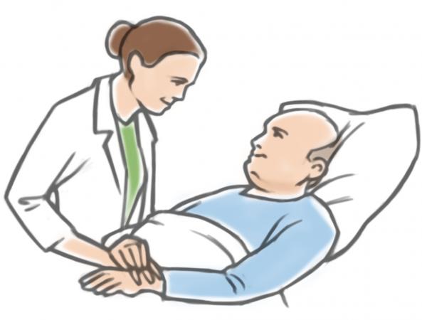 بالصور رؤية الميت في المنام مريض , تفسير حلم اذا كان الميت مريض بالمنام 5249 1