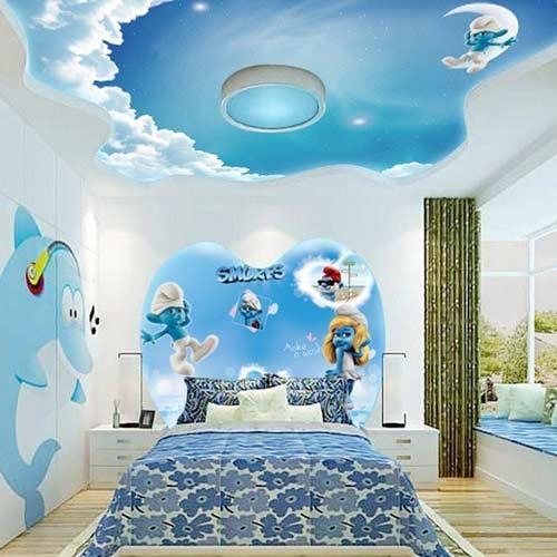 صورة ديكورات جبس غرف نوم اطفال , احلى ديكورات جبس لاوض نوم للاطفال