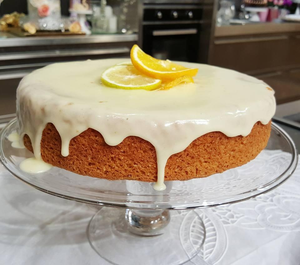 بالصور كيكة الليمون بالصوص , كيفية عمل الكيك بالصوص الرائع 12328 1