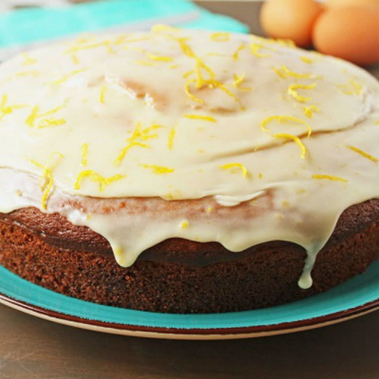 بالصور كيكة الليمون بالصوص , كيفية عمل الكيك بالصوص الرائع 12328 10