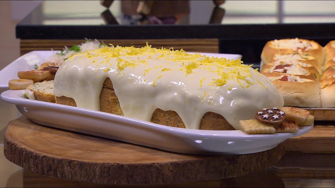 بالصور كيكة الليمون بالصوص , كيفية عمل الكيك بالصوص الرائع 12328 2
