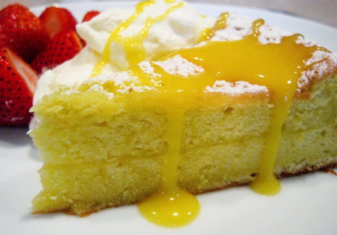 بالصور كيكة الليمون بالصوص , كيفية عمل الكيك بالصوص الرائع 12328 7