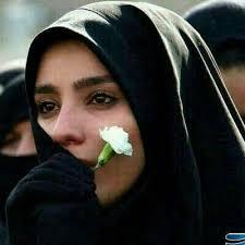 صور صور بنات محجبات حزينه , محجبات رسم علي وجوهن الحزن