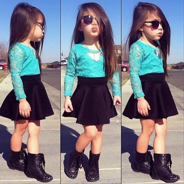 صورة صور بنات موضه , ازياء بنات صغيرات علي الموضة