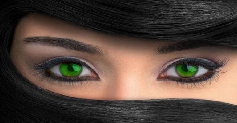 صورة صور عيون خضر , اجمل صور عيون خضراء مميزة