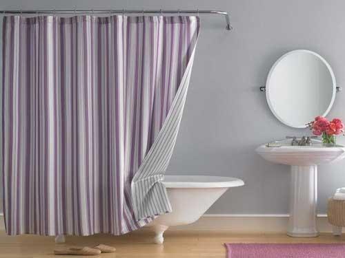 صورة صور ستائر حمامات , لحمام عصري اليكي الالوان العصرية لستائر الحمام