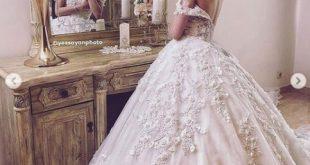 صور اجمل صور فساتين الزفاف , اليكي فساتين الافراح و الجديد في تصميماتها