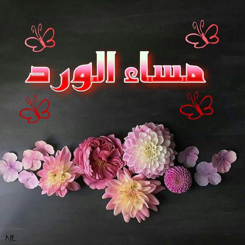 صورة اجمل الصور مكتوب عليها مساء الخير , مساء الخير علي الحلوين