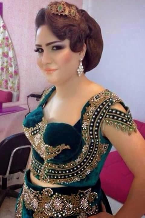 صورة ازياء جزائرية للاعراس , احدث موضة في لبس العروسة الجزائرية تعالو نشوفها