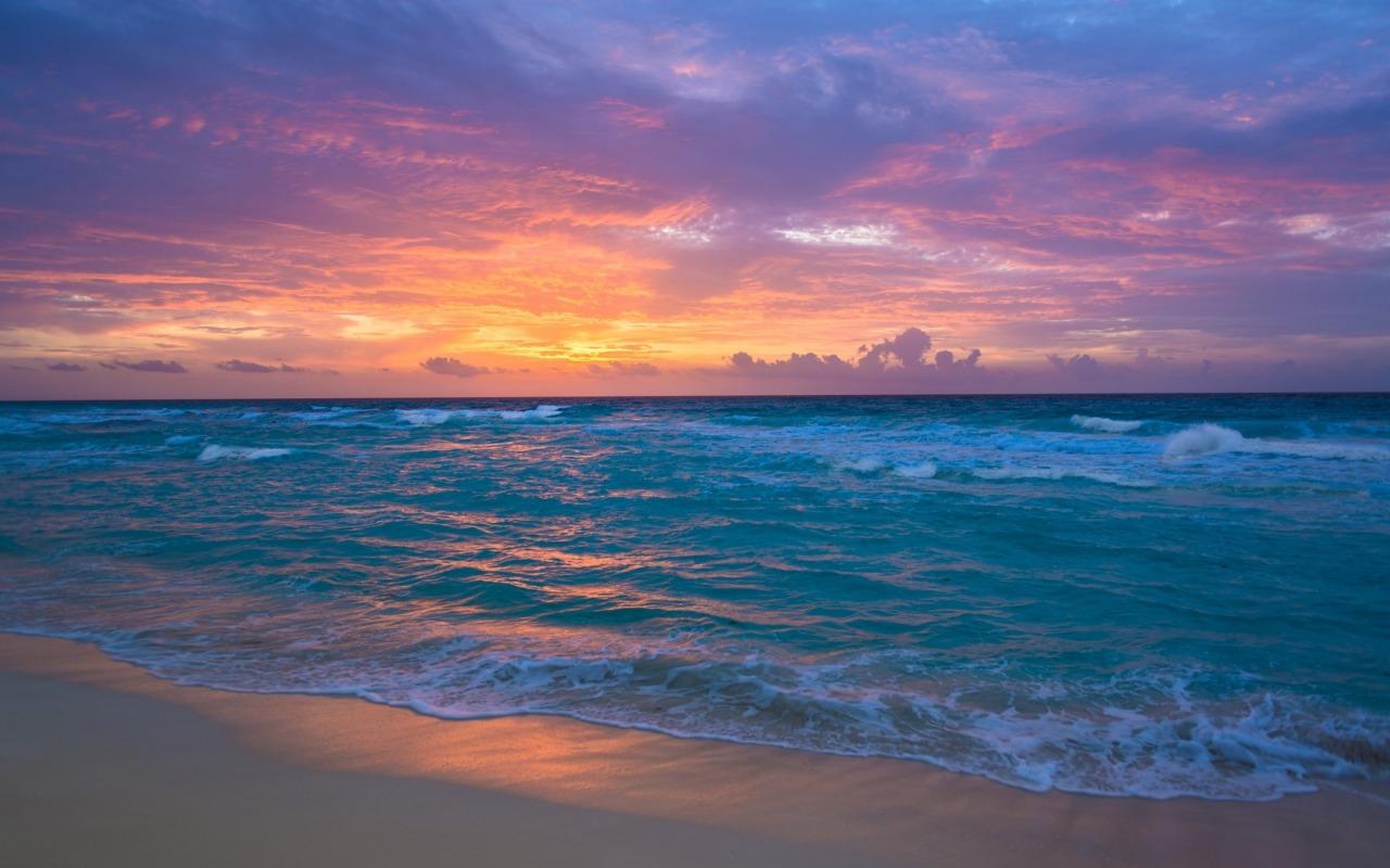صورة غروب الشمس على البحر , اجمل صور للغروب علي البحر
