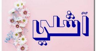 صورة معنى اسم اشلى , هل اشلي يطلق ع ولد ام بنت