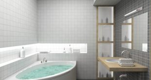 صورة تصميم حمامات , احدث اشكال للحمامات 2019