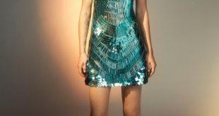 صورة فساتين سهرة قصيرة 2020 , احدث فستان سهرة قصير ٢٠٢٠