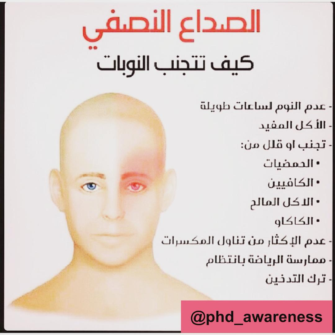 صورة مرض الشقيقة , اعراض وعلاج مرض الشقيقة