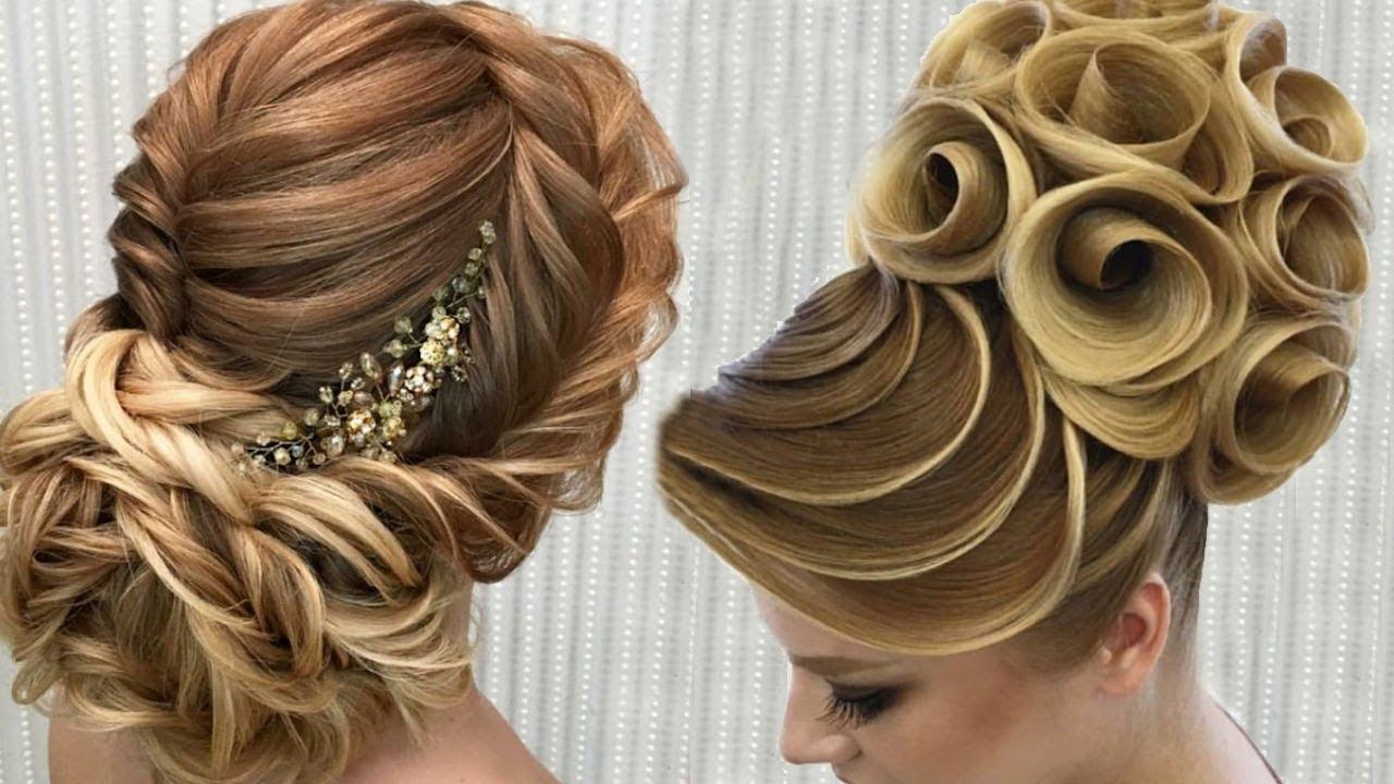 صورة اجمل تسريحات الشعر , للمناسبات تسريحات شعر جذابة