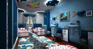 صورة ديكورات غرف نوم اطفال , اشكال حديثة لغرف النوم