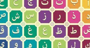 الحروف العربية بالترتيب