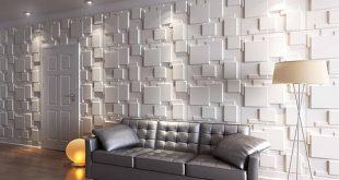 ورق جدران ثلاثي الابعاد