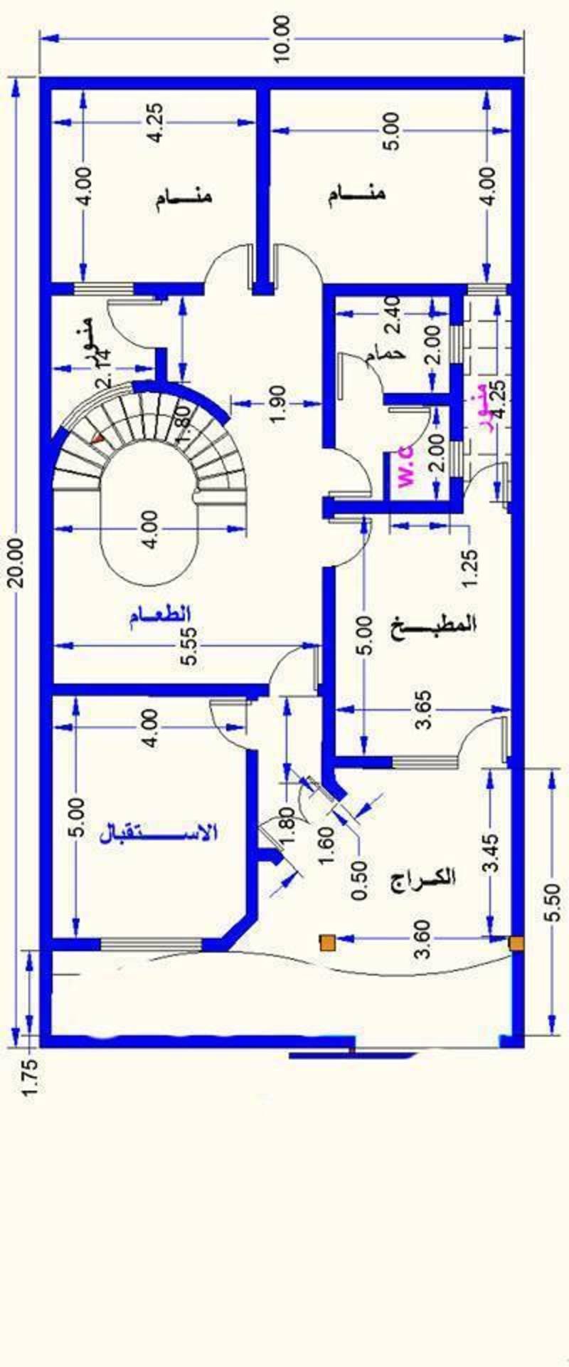 صورة خرائط منازل 2099