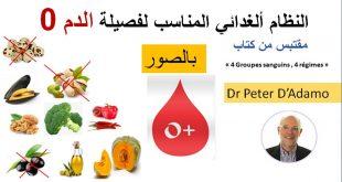 رجيم فصيلة الدم